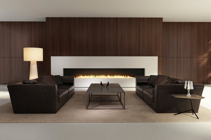 Brown and beige living room walls. dormitorio en el que destaca el ...