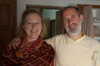 Lovely portrait of brother and sister. Gokul, December 23, 2006