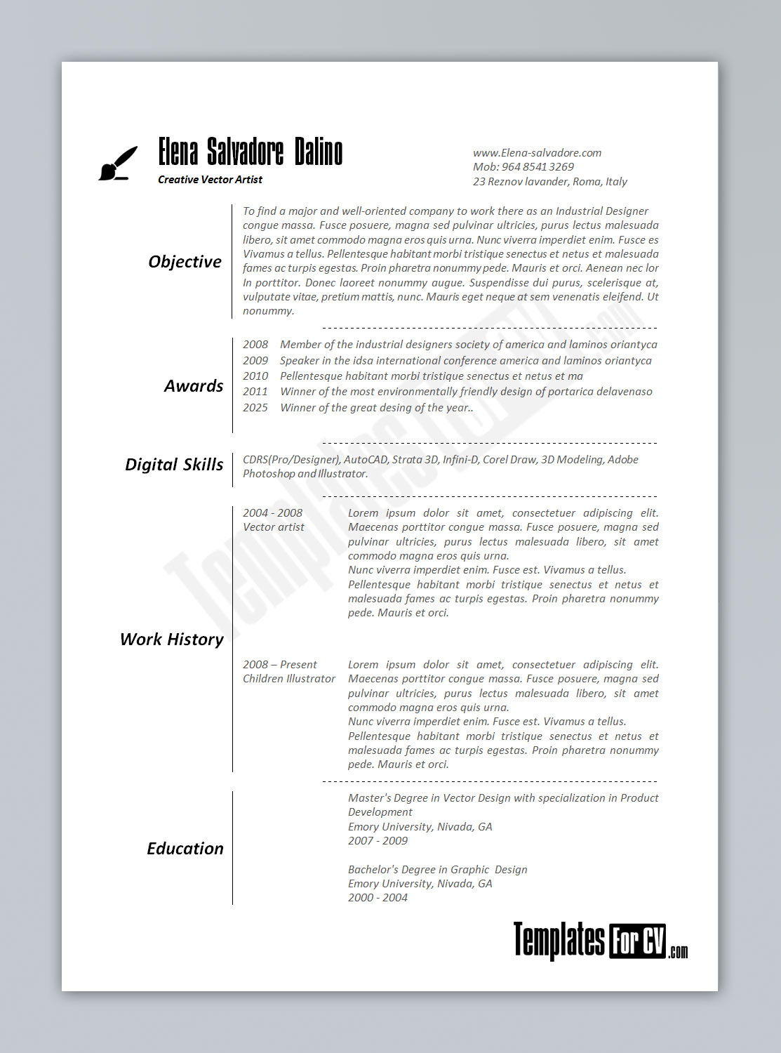 100 Actor Resume Template Microsoft Word 79 Exciting
