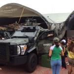 Vehículos militares para tomarse fotos