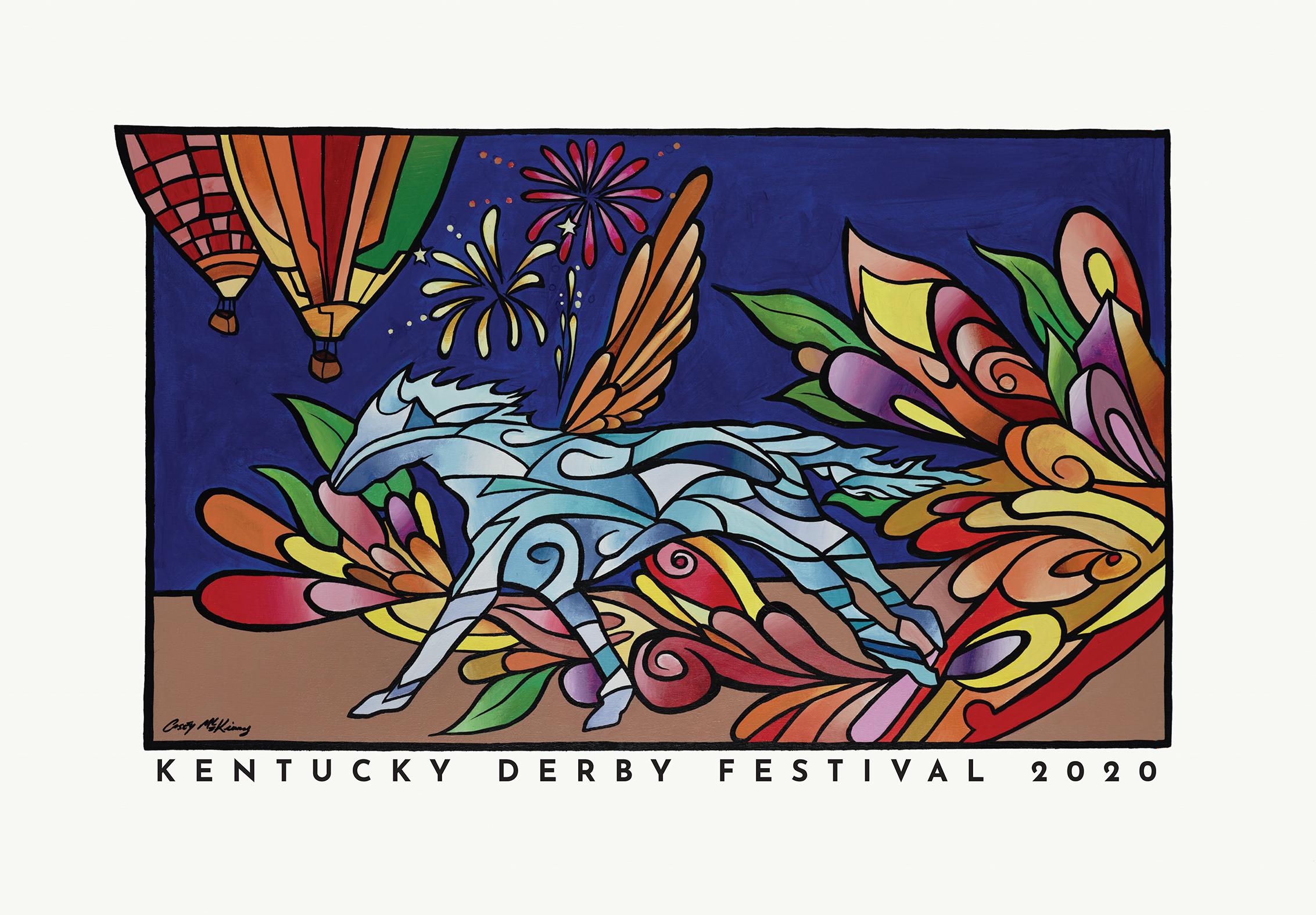 2020 kentucky derby festival poster