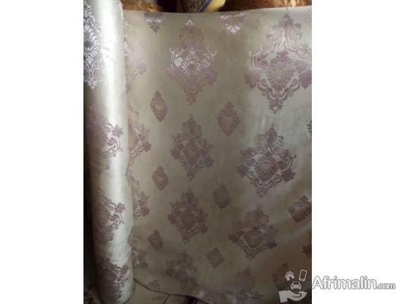 tissu pour rideau de qualite cotonou