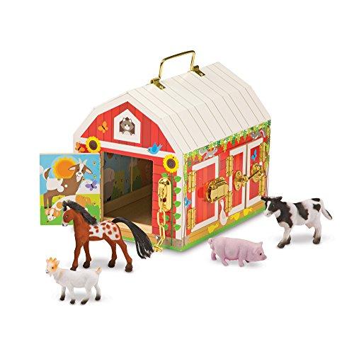 Melissa & Doug  Latches Barn Toy