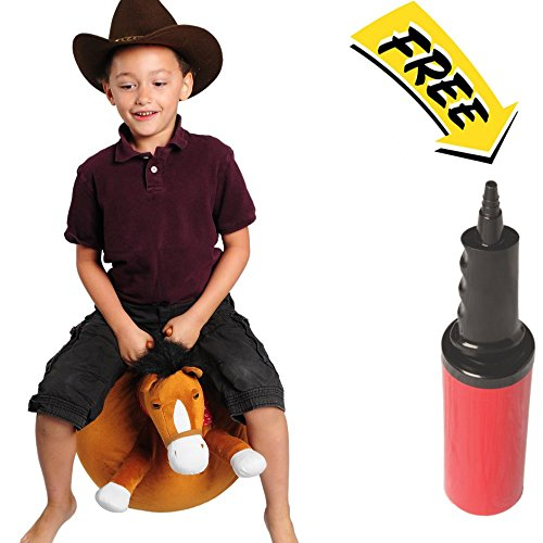 Mr Jones: Large Plush Horse Ball Hopper (Ages 6-10)