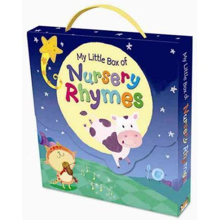 Nursery Rhyme Book Set For Children in a Box Set. Best Bedtime Stories for toddlers (Set of 6 Books)