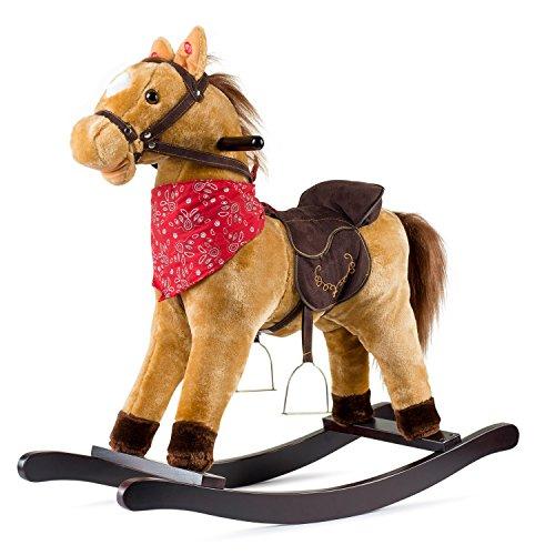 Cowboy Rocking Horse – Tan Brown