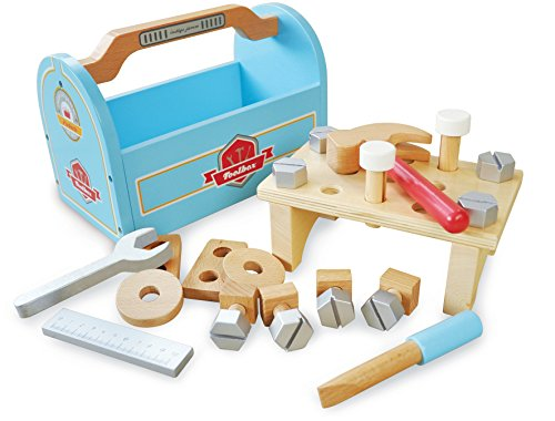 Indigo Jamm KIJ10082 Little Carpenters Tool Box Playset