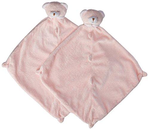 Angel Dear Cuddle Twins Blankie, Pink Bear