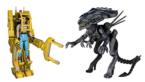 Funko Reaction: Aliens Ripley, Power Loader, Queen Action Figure (3 Pack)