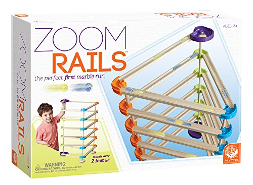 Zoom Rails Wooden Marble Track