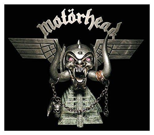 Motorhead Lemmy Kilmister Warpig Logo Tusk Skull Pyramid Statue Deluxe Heavy Metal Rock Collectible