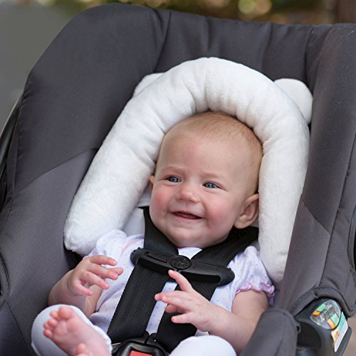 Eddie Bauer Baby Infant Head & Neck Support Bunny – Great For Car Seats, Bouncers & Strollers