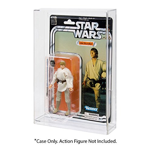star wars black series 40th anniversary carded action figure acrylic display -