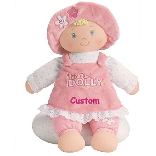 Personalized My First Dolly – Blonde – 13 inch, CUSTOM