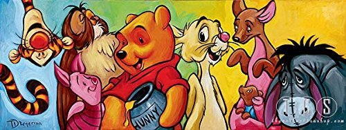 Tim Rogerson Hundred Acre Friends – From Disney Winnie the Pooh Disney Art