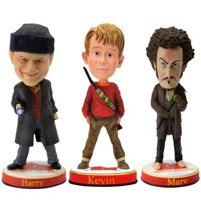 Home Alone Kevin, Harry and Marv Limited Edition Movie Bobblehead Set – Limited to Only 5,000/3,000 – Macaulay Culkin, Daniel Stern and Joe Pesci