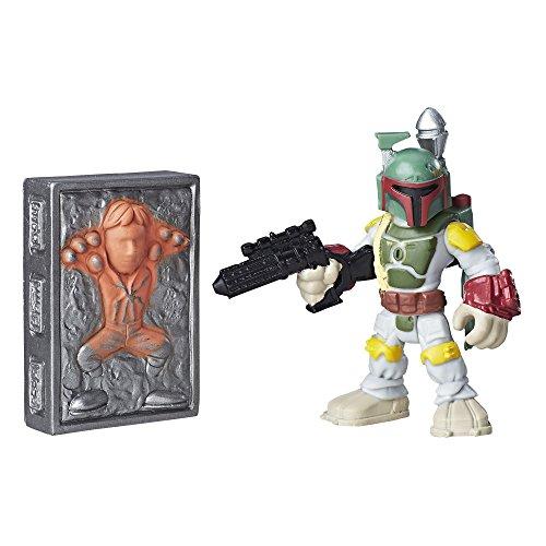 Playskool Heroes Galactic Heroes Boba Fett and Han Solo in Carbonite