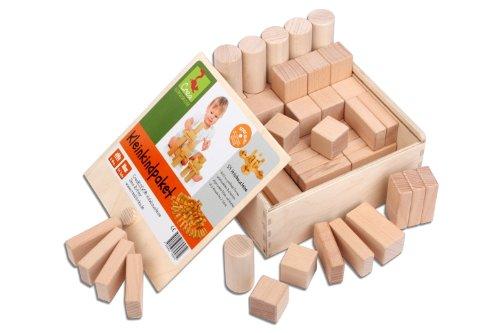 Wooden Blocks Toddlers Package (54 Wooden Building Blocks)
