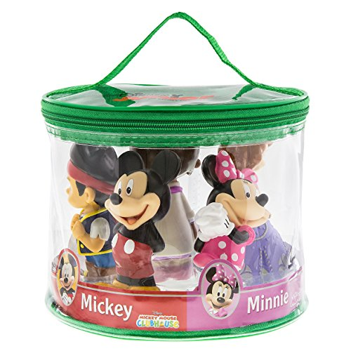 Disney Parks Exclusive Clubhouse Junior Mickey Jake Sofia Minnie Doc Squeeze Toys Set of 5