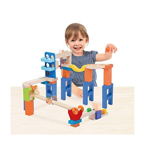 Wonderworld Creative Gravity Play! Trix Tracks Wonder Bridge Track – 46 Piece Set Unique Kids Toy with Endless Building Options