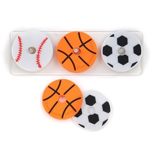Chewbeads Stack and Play – Play Ball – 3 pk
