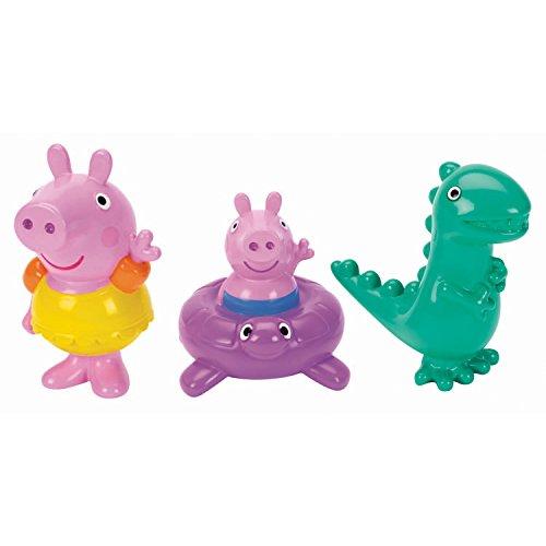 Peppa Pig Bath Squirters – Peppa Pig, George and Dinosaur Set