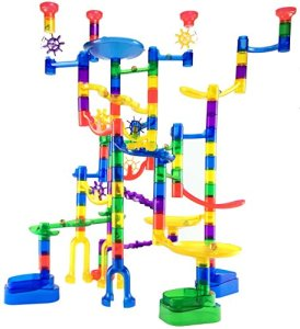 marble genius marble run super set 85 translucent marbulous pieces 15 2 - Marble Genius Marble Run Super Set - 85 Translucent Marbulous Pieces + 15 Glass Marbles