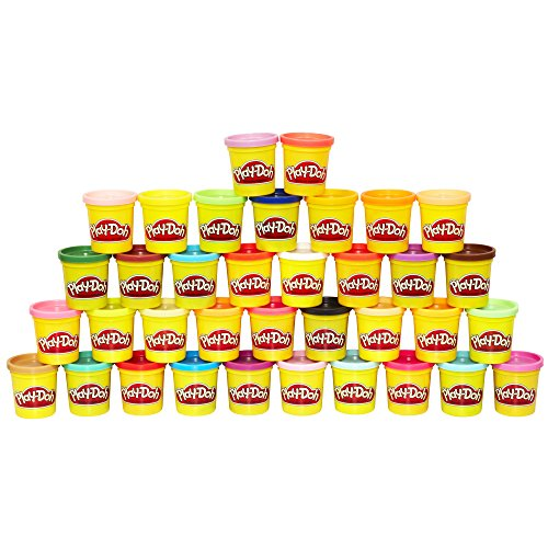 Play Doh 36-Can Mega Pack – Amazon Exclusive