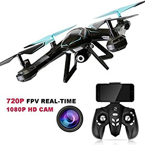 GordVE RC Drone FPV VR Wifi RC Quadcopter 2.4GHz 6-Axis Gyro Remote Control Drone With HD 2MP Camera Drone