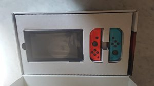 nintendo switch joy console wii gamecube neon red and blue 1 - Nintendo Switch - Joy-Console - Wii GameCube, Neon Red and Blue