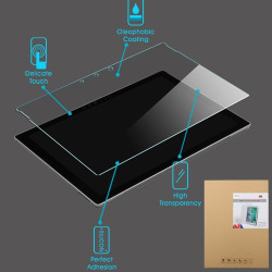 For Microsoft Surface 3 Clear Tempered Glass Screen Protector Film Cover