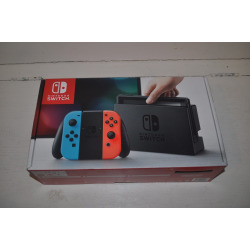Brand Nintendo Switch With Neon Blue And Neon Red Joy-con