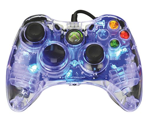 Afterglow Wired Controller for Xbox 360 – Blue