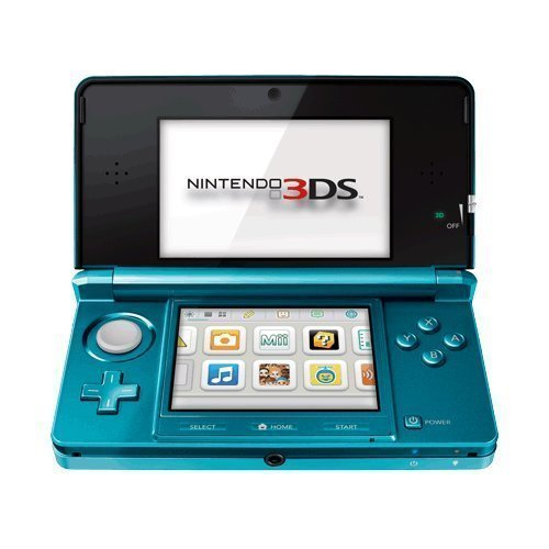Portable, Nintendo 3DS – Aqua Blue Consumer Electronic Gadget Shop