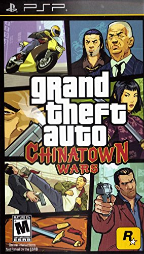 Grand Theft Auto: Chinatown Wars – Sony PSP