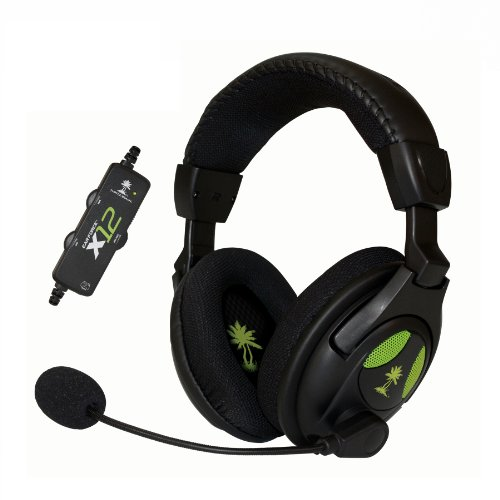 Turtle Beach – Ear Force X12 Amplified Stereo Gaming Headset – Xbox 360