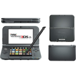 New Nintendo 3DS XL System – Black