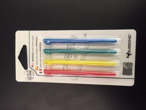 Generic 4 Piece Stylus Pen Set Multi Color for Lite – Nintendo DS