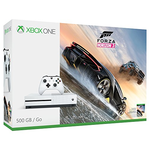 Xbox One S 500GB Console – Forza Horizon 3 Bundle [Discontinued]