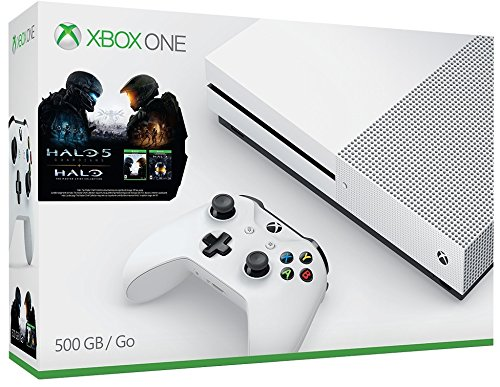 Xbox One S 500GB Console – Halo Collection Bundle [Discontinued]