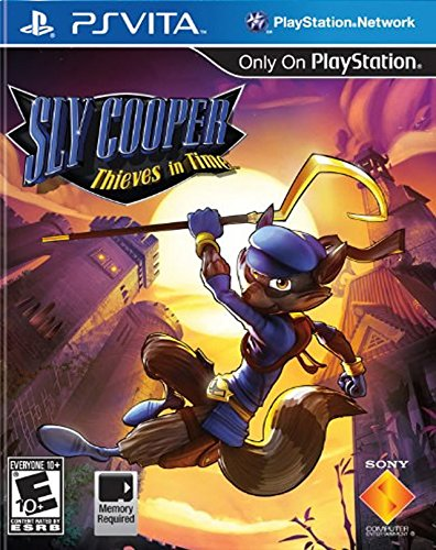 Sly Cooper: Thieves in Time – PlayStation Vita