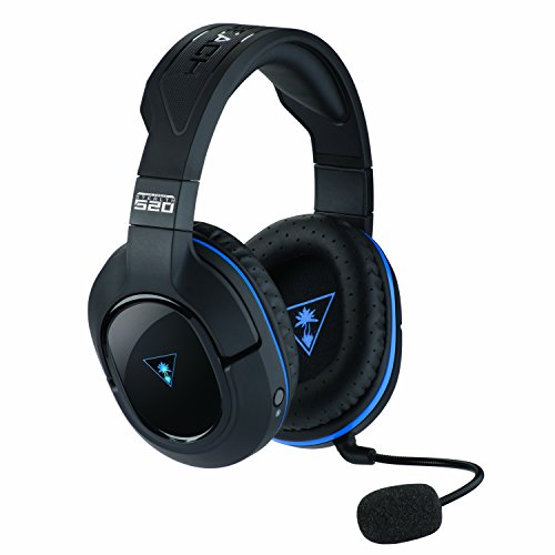 Turtle Beach – Stealth 520 Premium Fully Wireless Gaming Headset  PS4 Pro, PS4, & PS3
