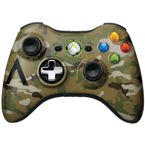 Xbox 360 Wireless Controller –  Camouflage