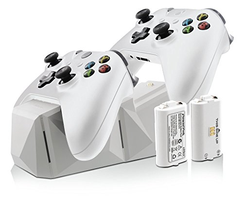 Nyko Charge Block Duo Battery Charger, White – Xbox One