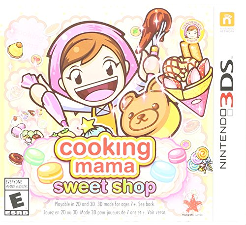 cooking mama sweet shop nintendo 3ds -
