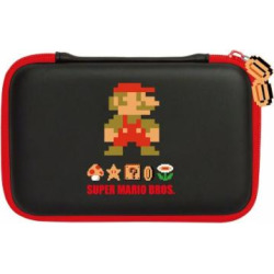 Hori Retro Super Mario Bros. Hard Pouch for Nintendo 3DS XL, 3DS, DSi and DSi XL
