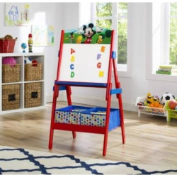 fun delta children mickey mouse activity easel -