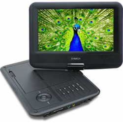 synagy 9inch portable dvd player with screen portable cd player with sd card -