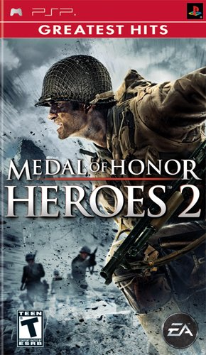 medal of honor heroes 2 sony psp -