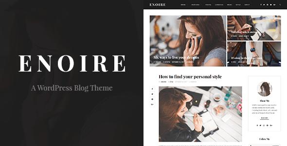 Enoire – A WordPress Blog Theme